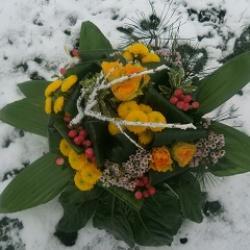 bouquet neige