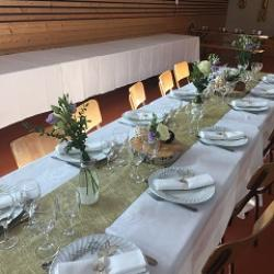 mariage table &