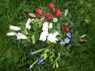 Bouquet deuil 1